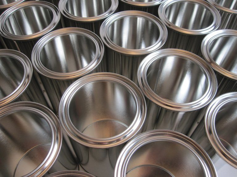 Blikken aluminium